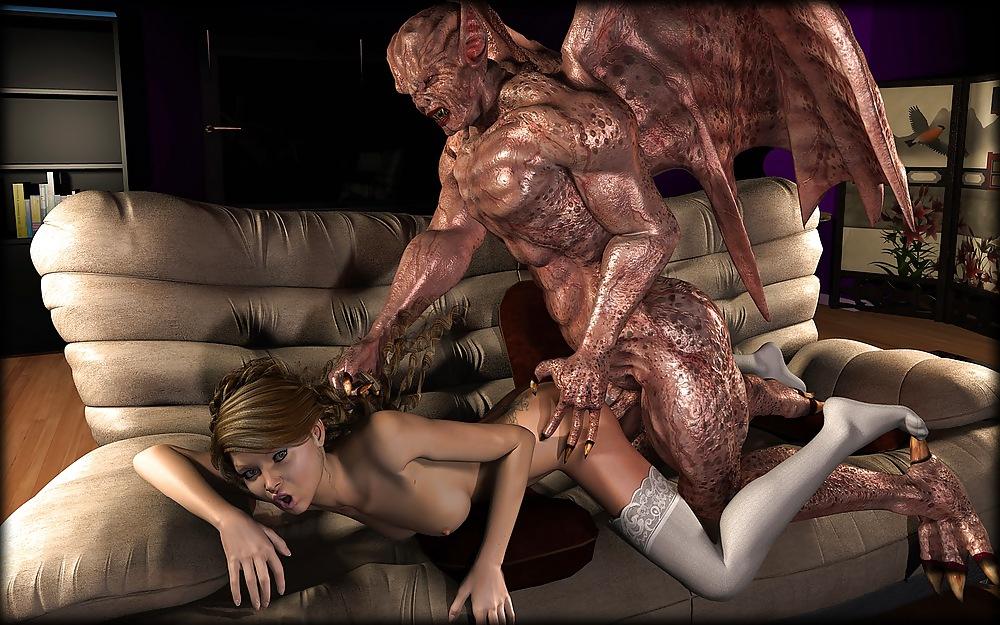 Порно 3d С Огромными Монстрами