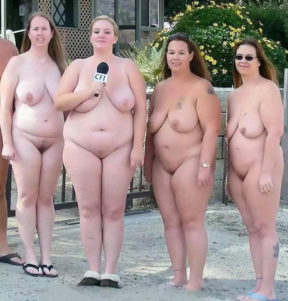 Толстые Обнаженные Люди