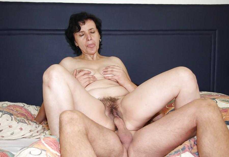 Секс Зрелой Волосатой Жены