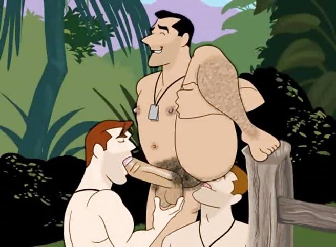 Порно Мультфильмы Геи
