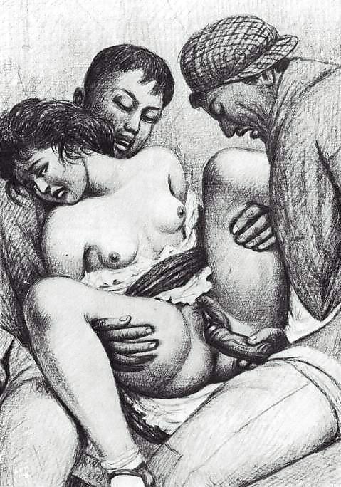 Ретро Изнасилование Девственниц