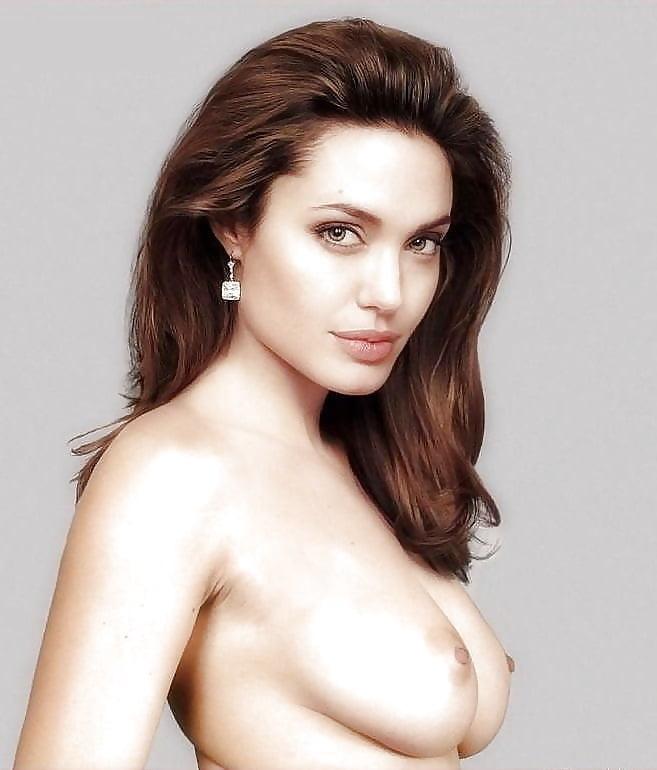 Анджелина Джоли Обнажила Грудь