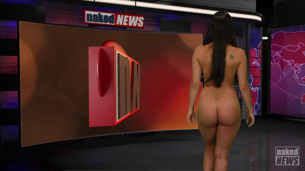 Naked news video clip