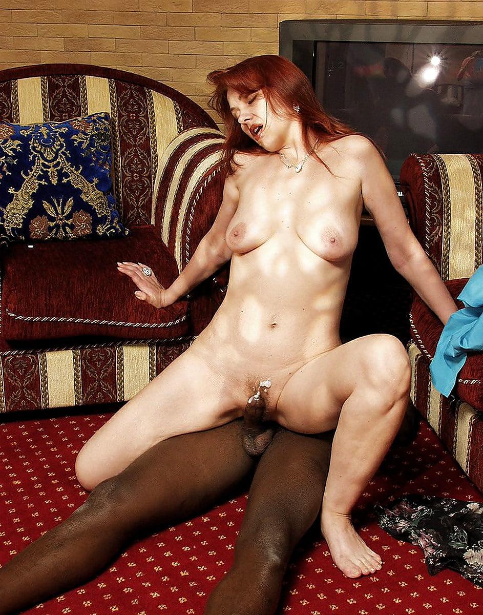 Iren redhead russian mature mom and a friend
