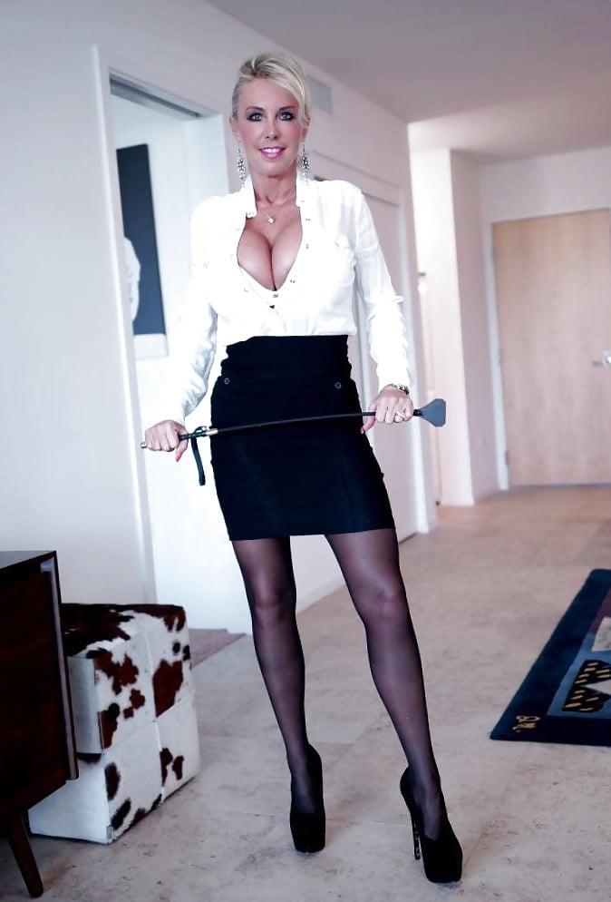 Blonde mature big tits anal