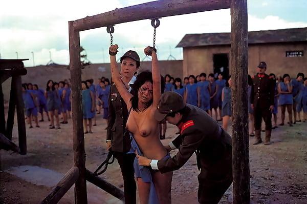 Do you like bdsm female prison flogged women