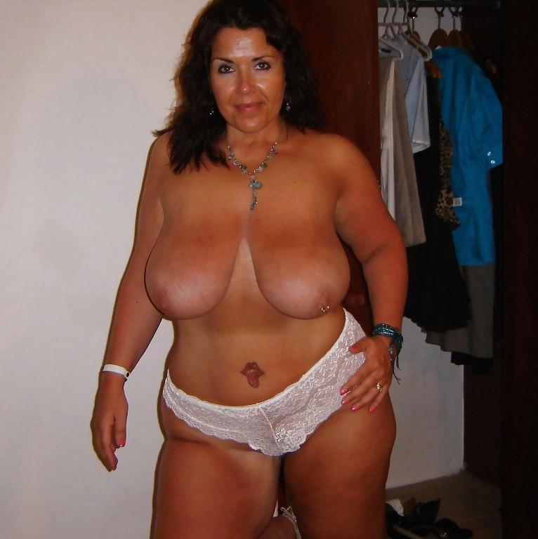 Mature white naked women