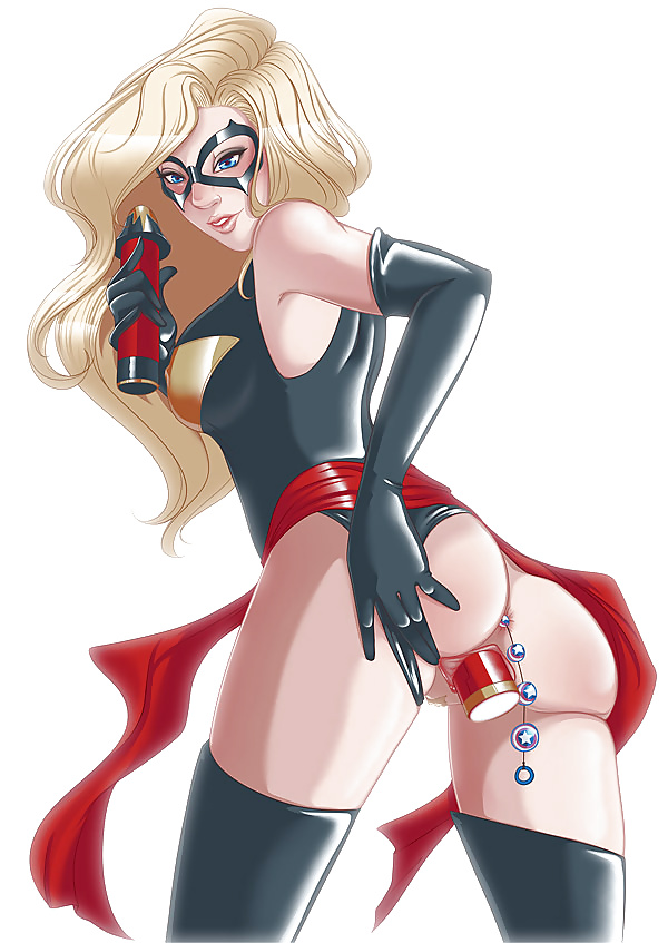 Ms marvel nude sexy, girls in hot thongs