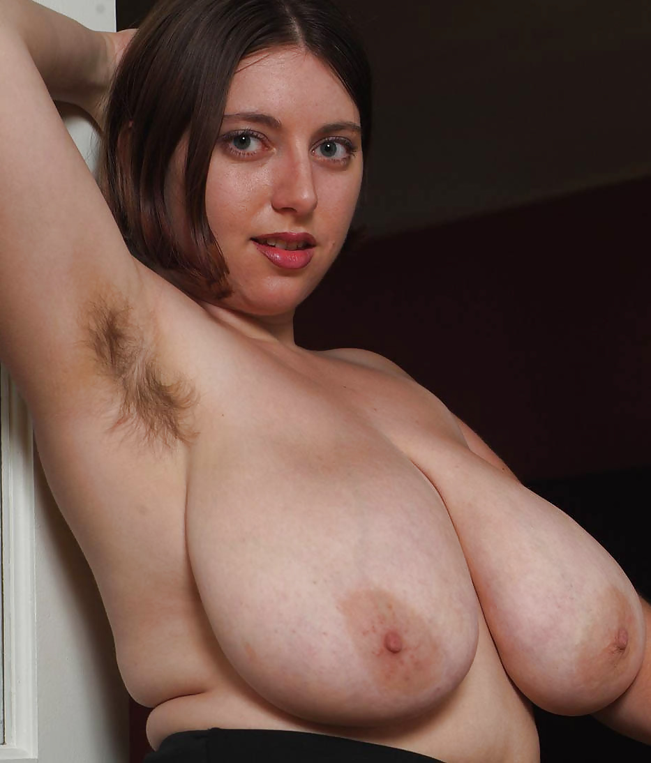 Hairy arms big tits