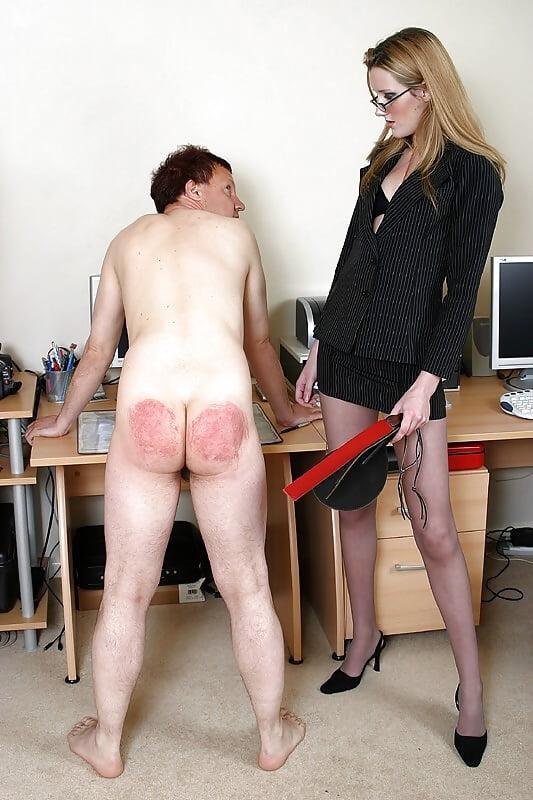 Ladies teaching naked boys
