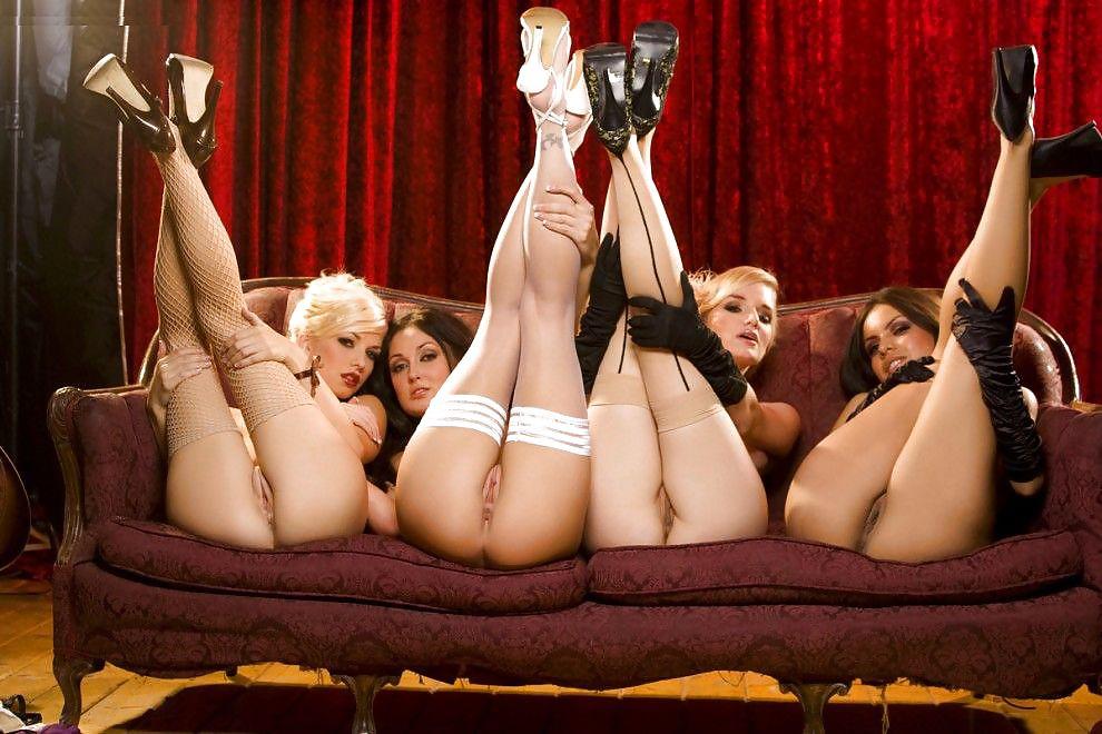 порно лесби в стиле бурлеск - 11