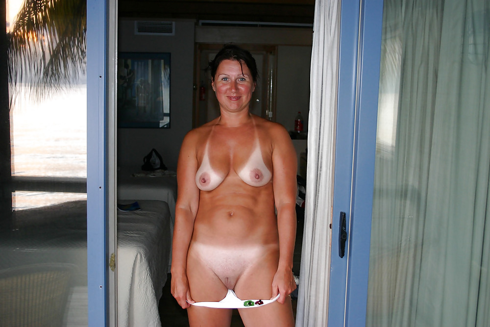 Consider, that amateur nude wives tan lines this magnificent