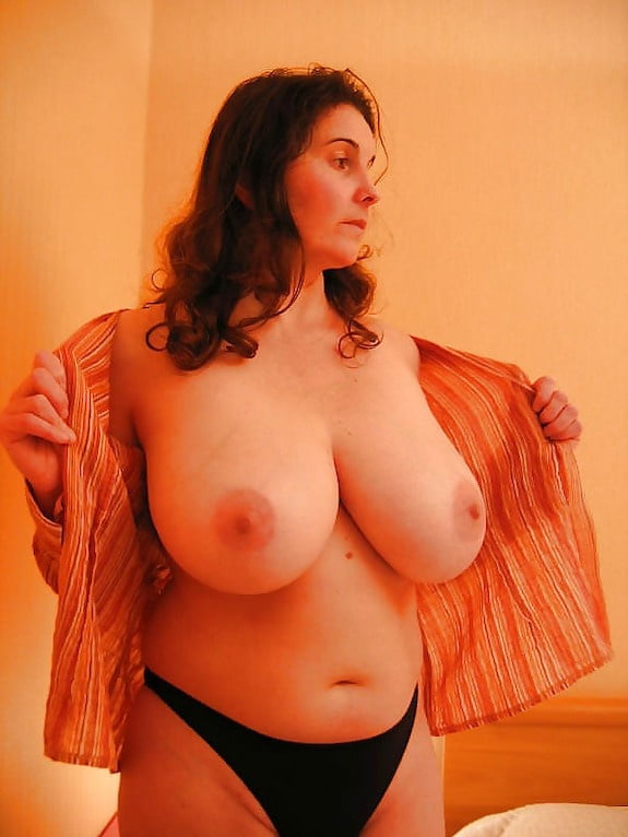 Skinny girl with huge natural tits-7923