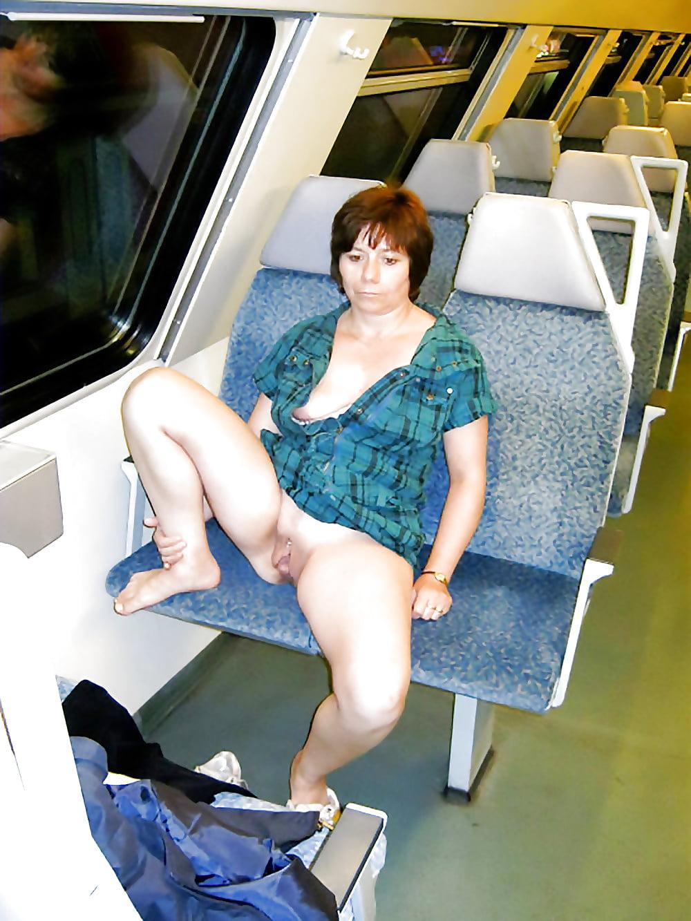 зрелые в поезде - 10
