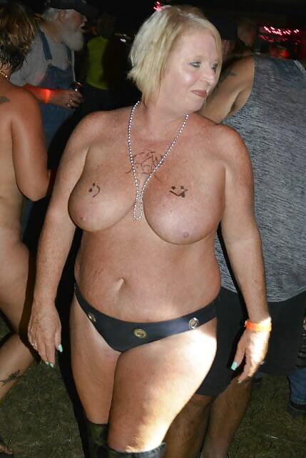 Larger mature ladies