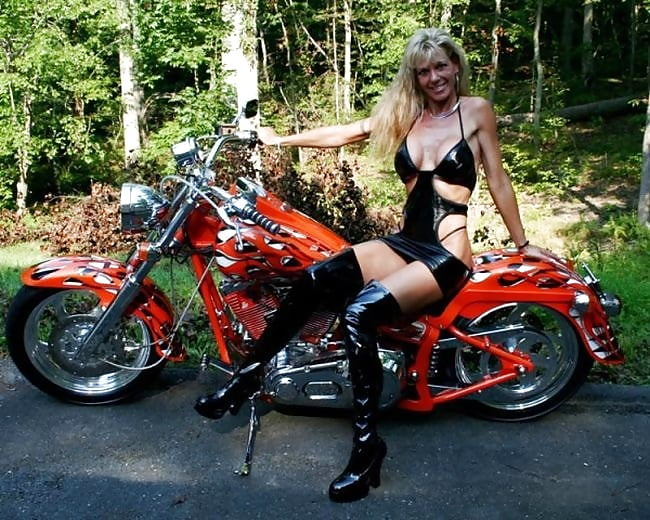Babes and motorcycles