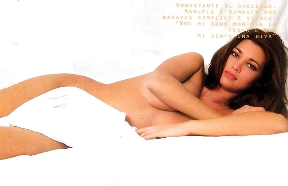 Manuela Arcuri Nude, Naked