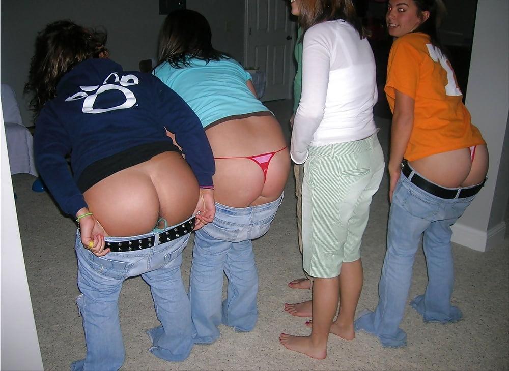 приспустила джинсы показывает фото