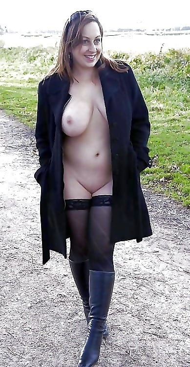 nice naked under coat pics xhamster com