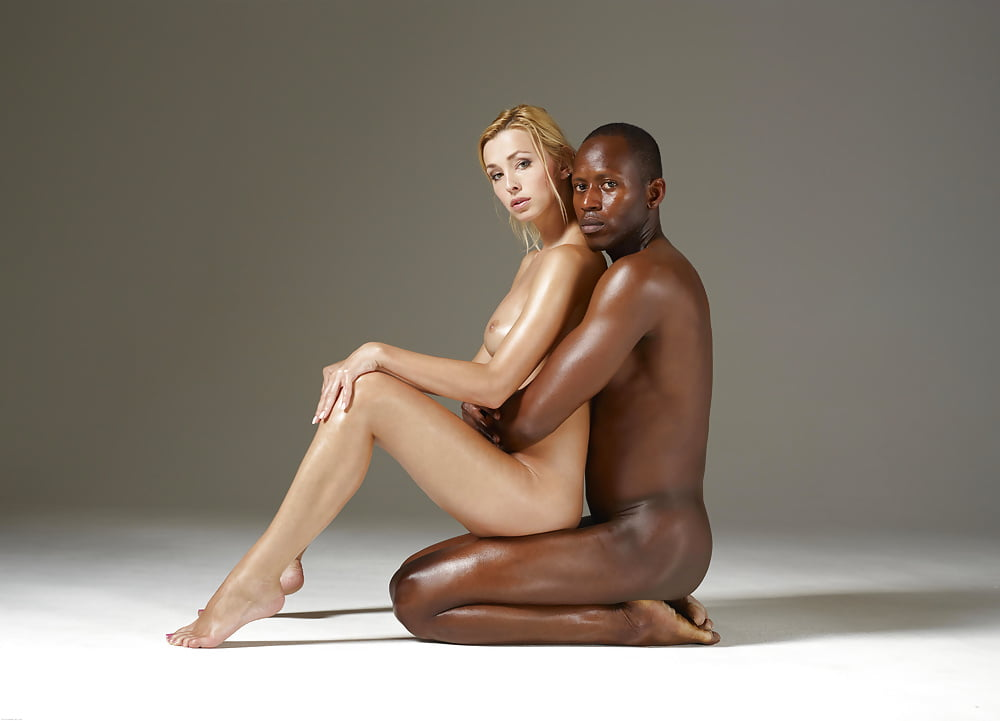 White girls with black men nude