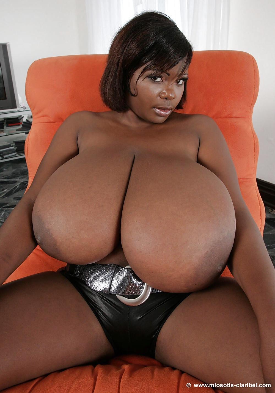 Big black boob pic
