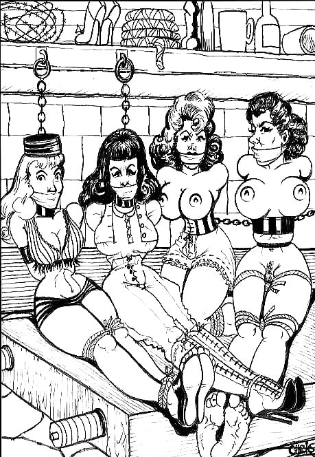 vicki-bond-fetish-art-rockabilly-girls
