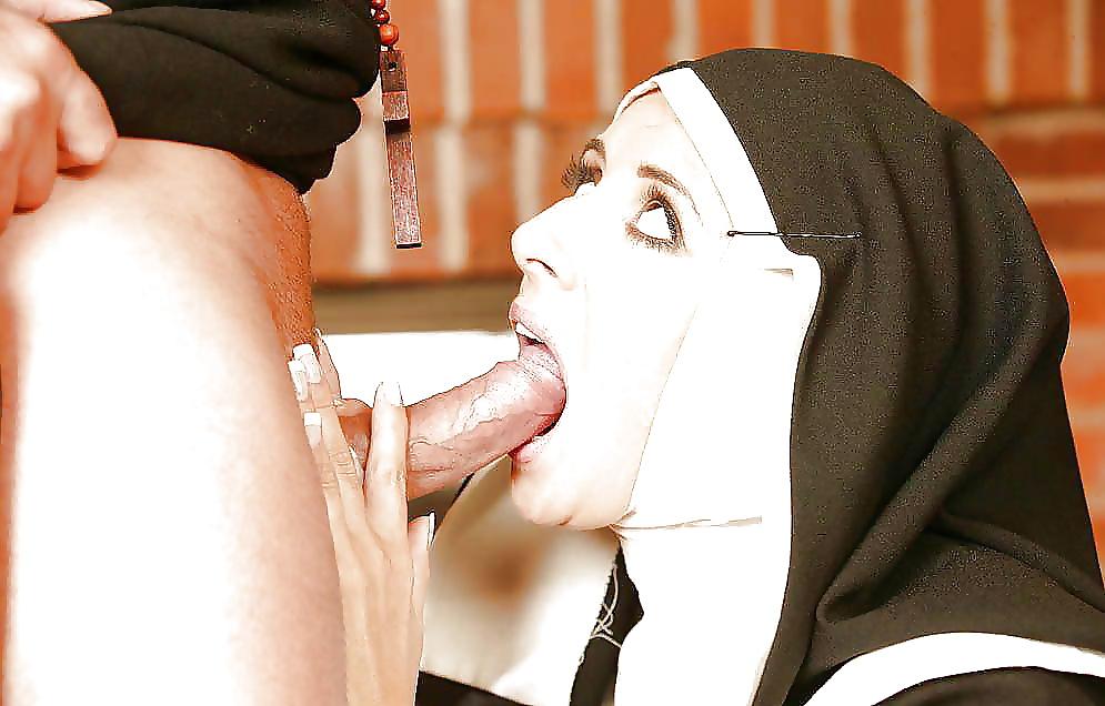 Nuns kissing porno