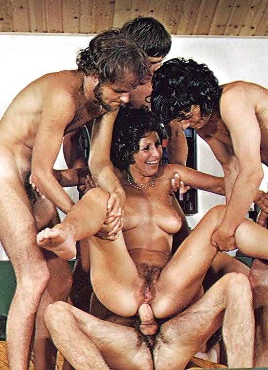 Порно Винтаж Группа