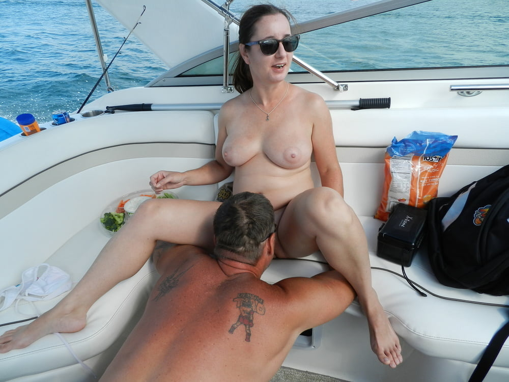 Outdoor sex boat