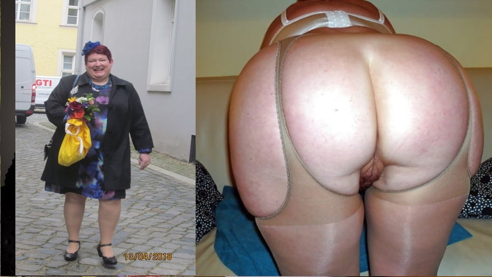 My naked fat wife-9109