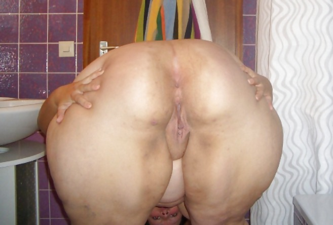 Bbw mature huge ass