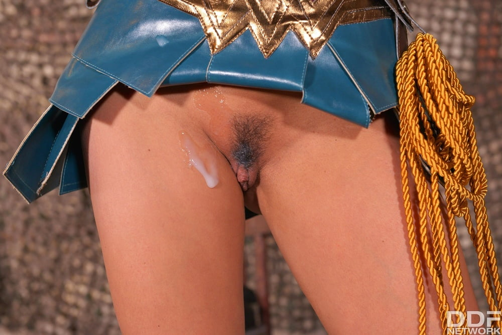 Horny wonder woman