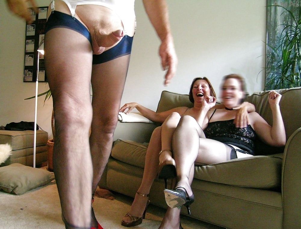 mature-wearing-pantyhose-switch-theirs-husbands