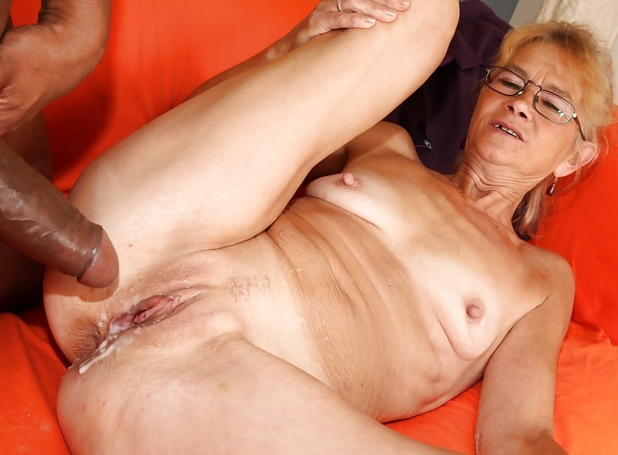 Black Granny Gets Fucked Hard