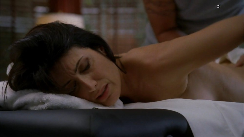 Cuddy on house naked