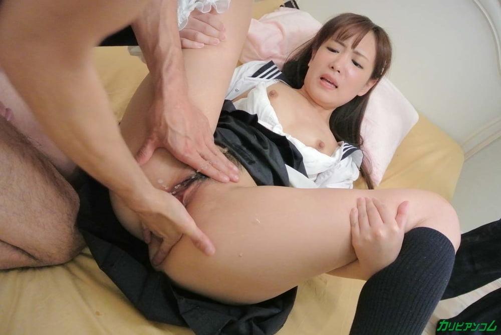 Miyuki Sakura :: Flirtation In Uniform - CARIBBEANCOM - 25 Pics
