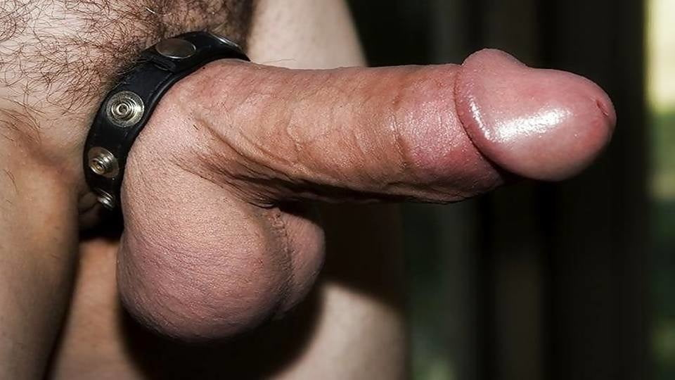 This cock ring makes me feel extra thick