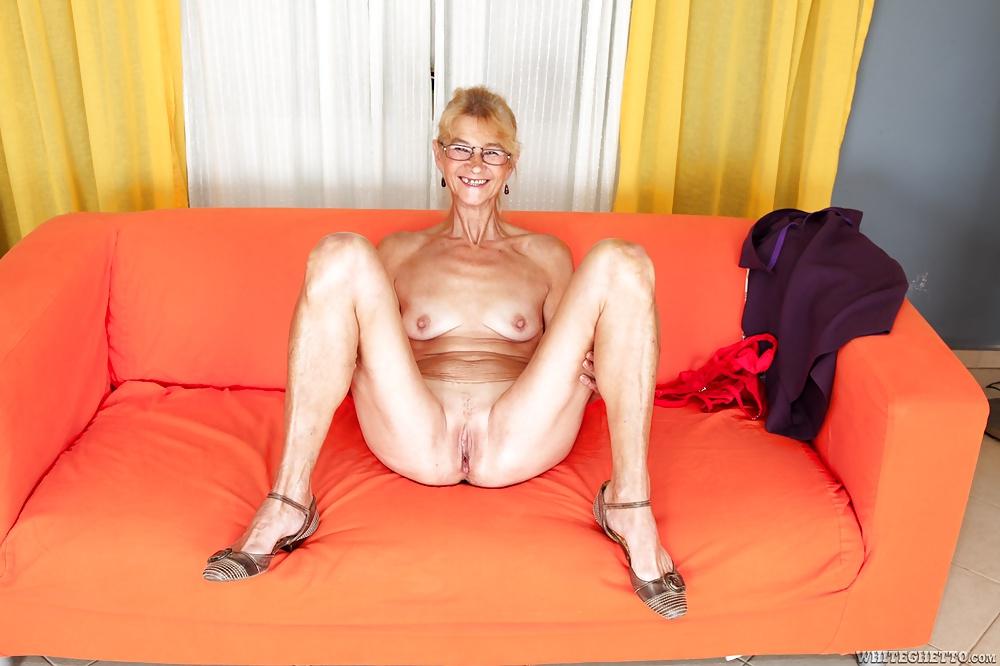 Skinny Granny Creampie