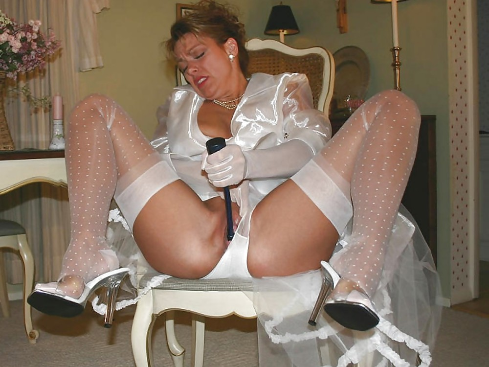 Slut bride panties 9