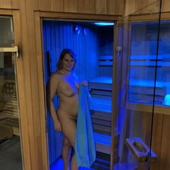 After Training In The Sauna