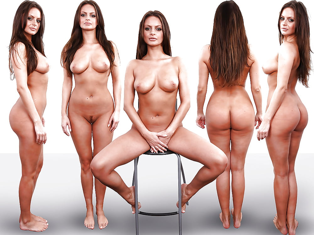 Female nude torso cast