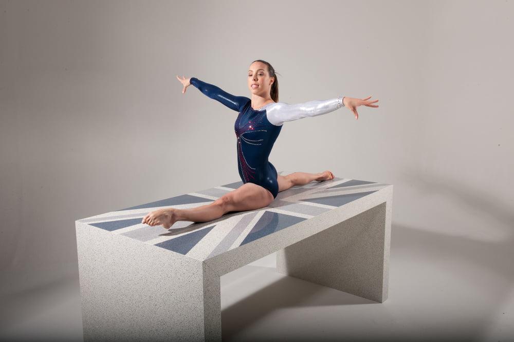 Backless gymnastics leotards