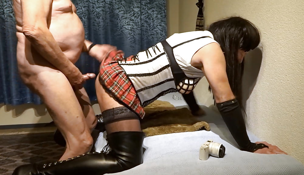 Crossdresser anal porn pics