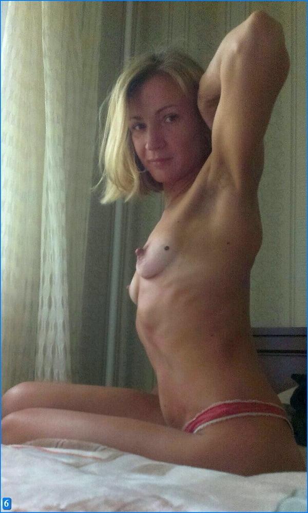 Skinny Small Tits Blond Milf