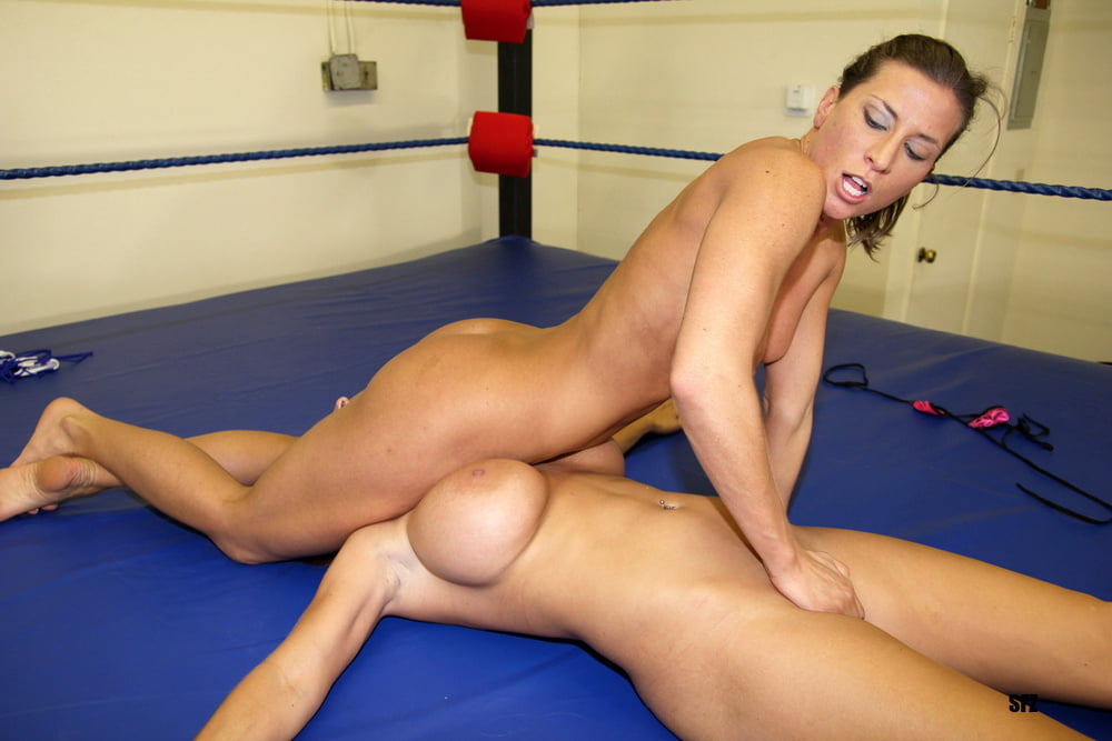 Is this a female wrestling tournament or a lesbian fuck battle