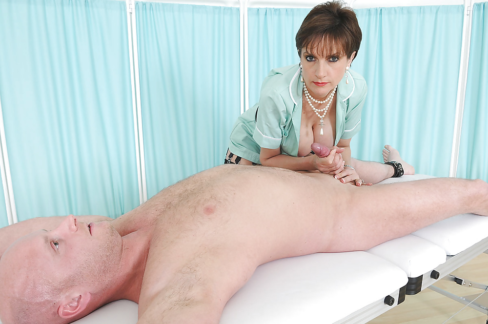 Black Booty Nurse In Sexy Uniform Satisfies Her Patient With Her Huge Boobs