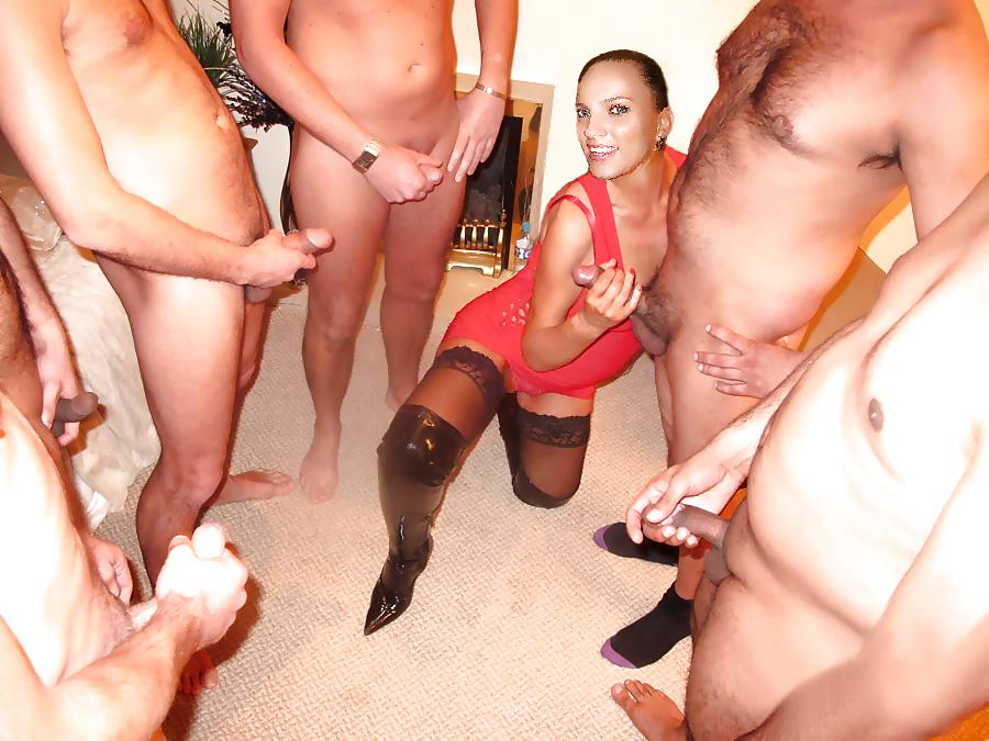 Порно блядь пустили по кругу друзей — pic 6