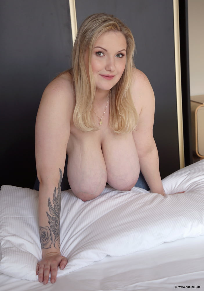 Busty blonde photos
