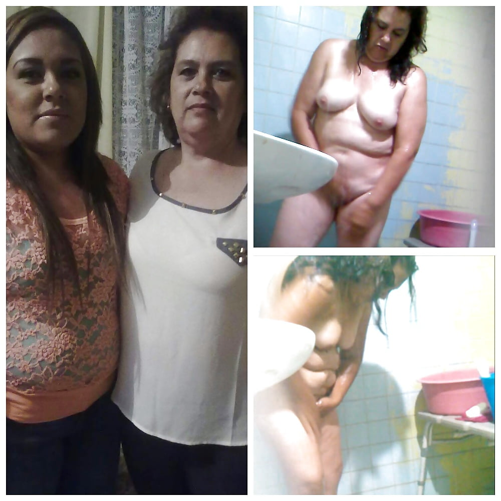 Lesbian mother and daughter naked