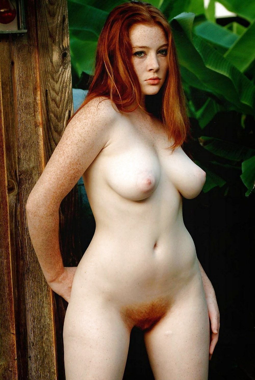 Nude hairy redhead women-3235